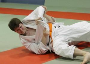 Neil competing at Seiwakan's 1st annual Kagami Biraki Shiai